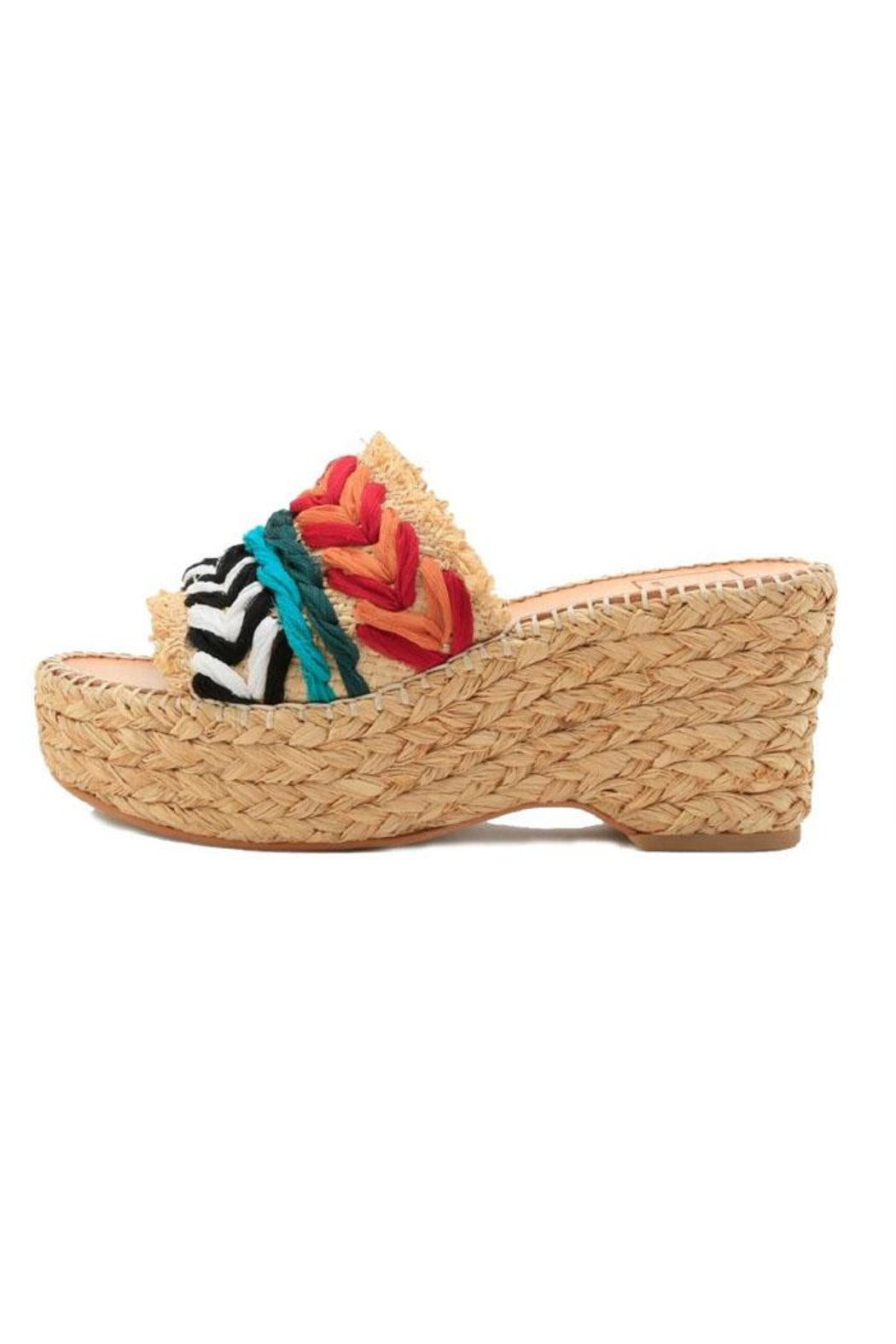 Dolce Vita Lupe Straw Wedge - Front Cropped Image
