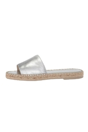 Dolce Vita Metallic Espadrille Slide - Product Mini Image