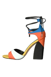 Dolce Vita Multi Colored Wrap Up Heel - Front cropped