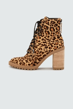 Dolce Vita Norma Leopard Heeled-Bootie - Product List Image