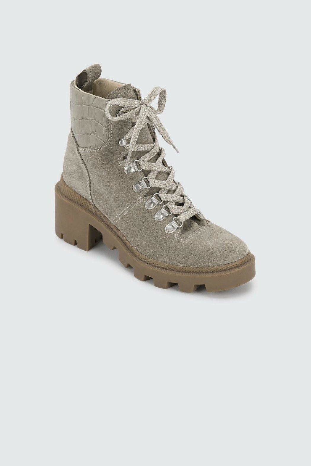 Dolce Vita Rubi Suede Work-Boot - Side Cropped Image