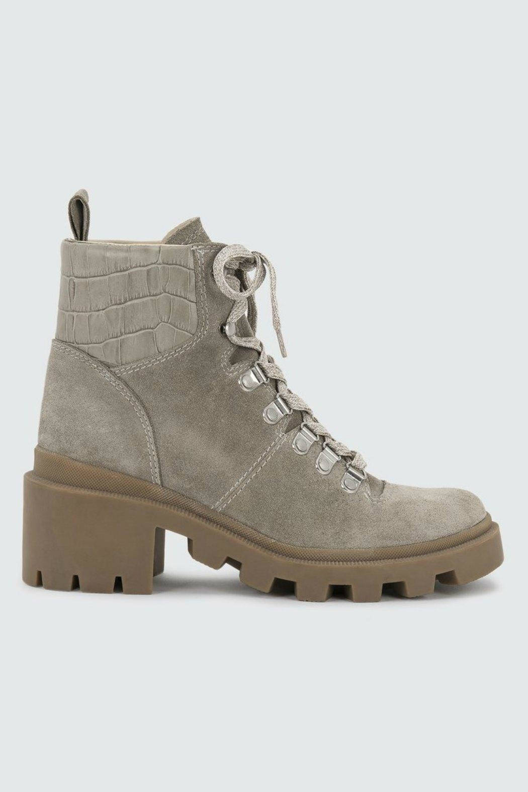 Dolce Vita Rubi Suede Work-Boot - Front Full Image