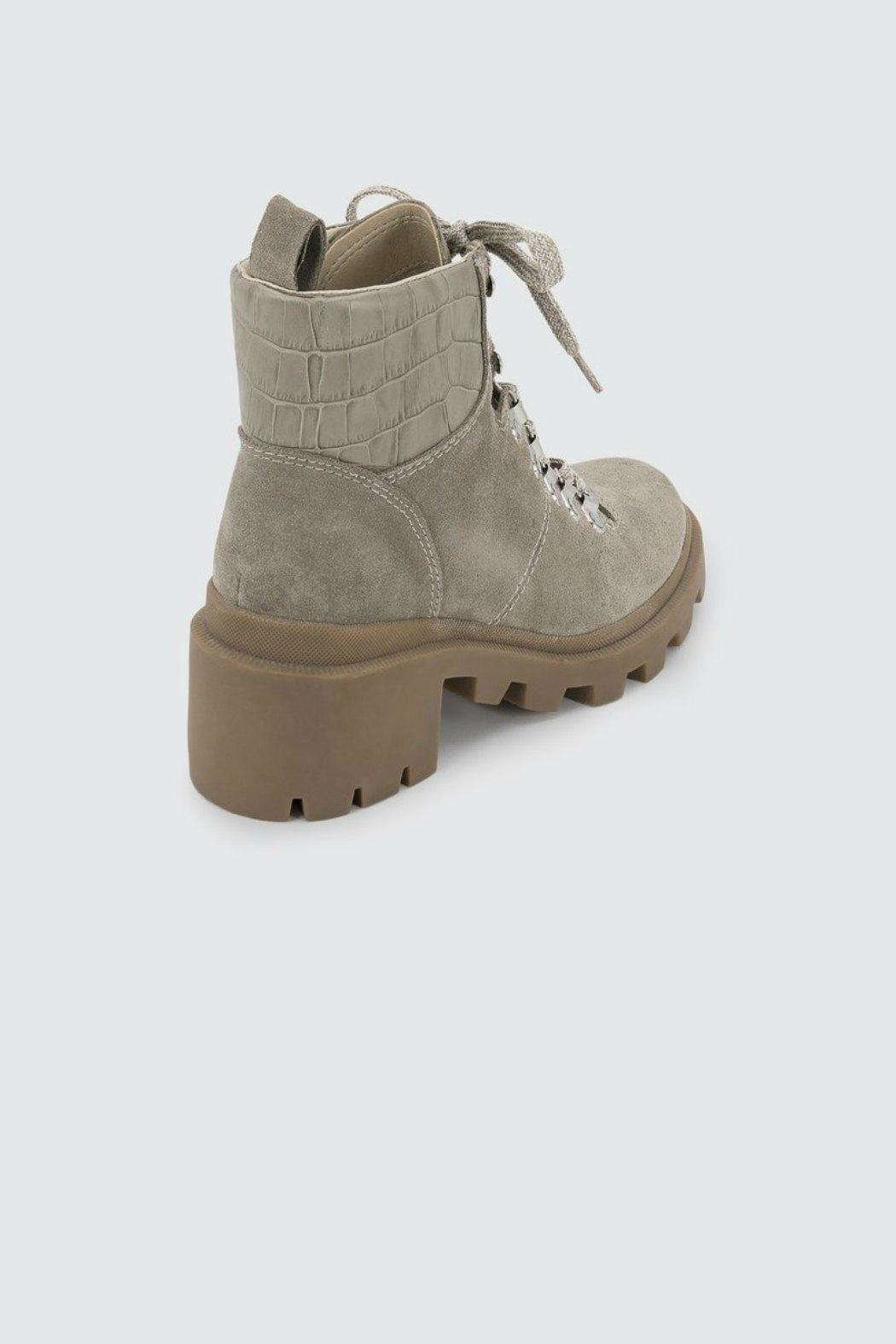 Dolce Vita Rubi Suede Work-Boot - Back Cropped Image
