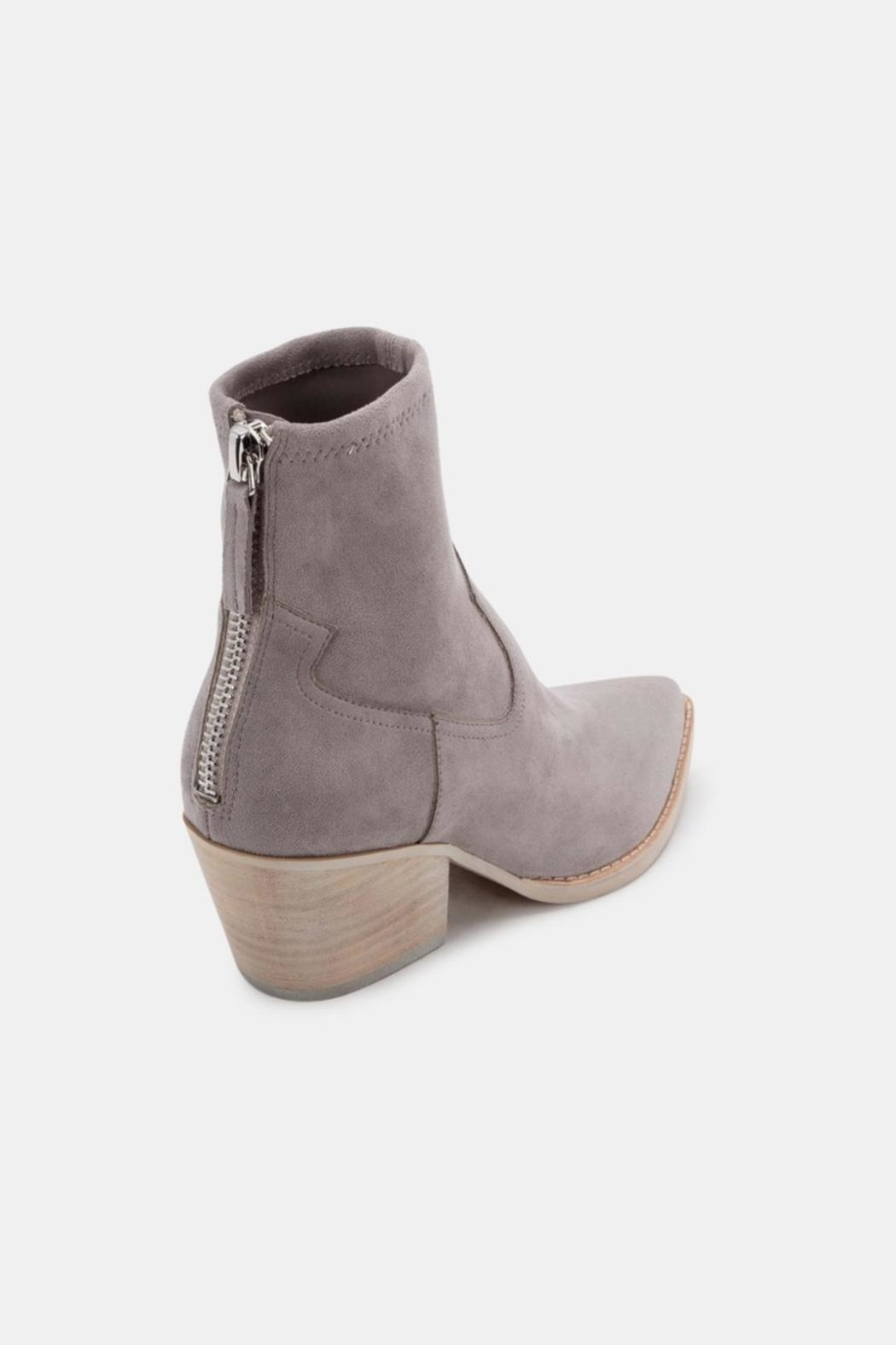 Dolce Vita Shanta Suede Booties - Side Cropped Image