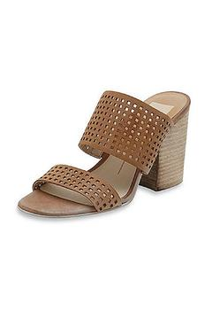 Shoptiques Product: Brown Slip-On Heel