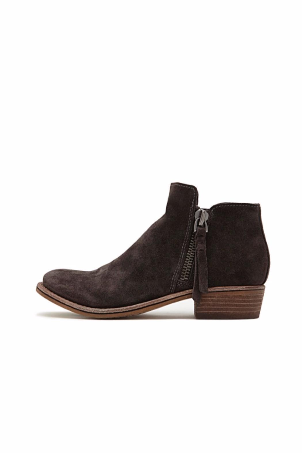 Dolce Vita Sutton Suede Booties - Front Cropped Image