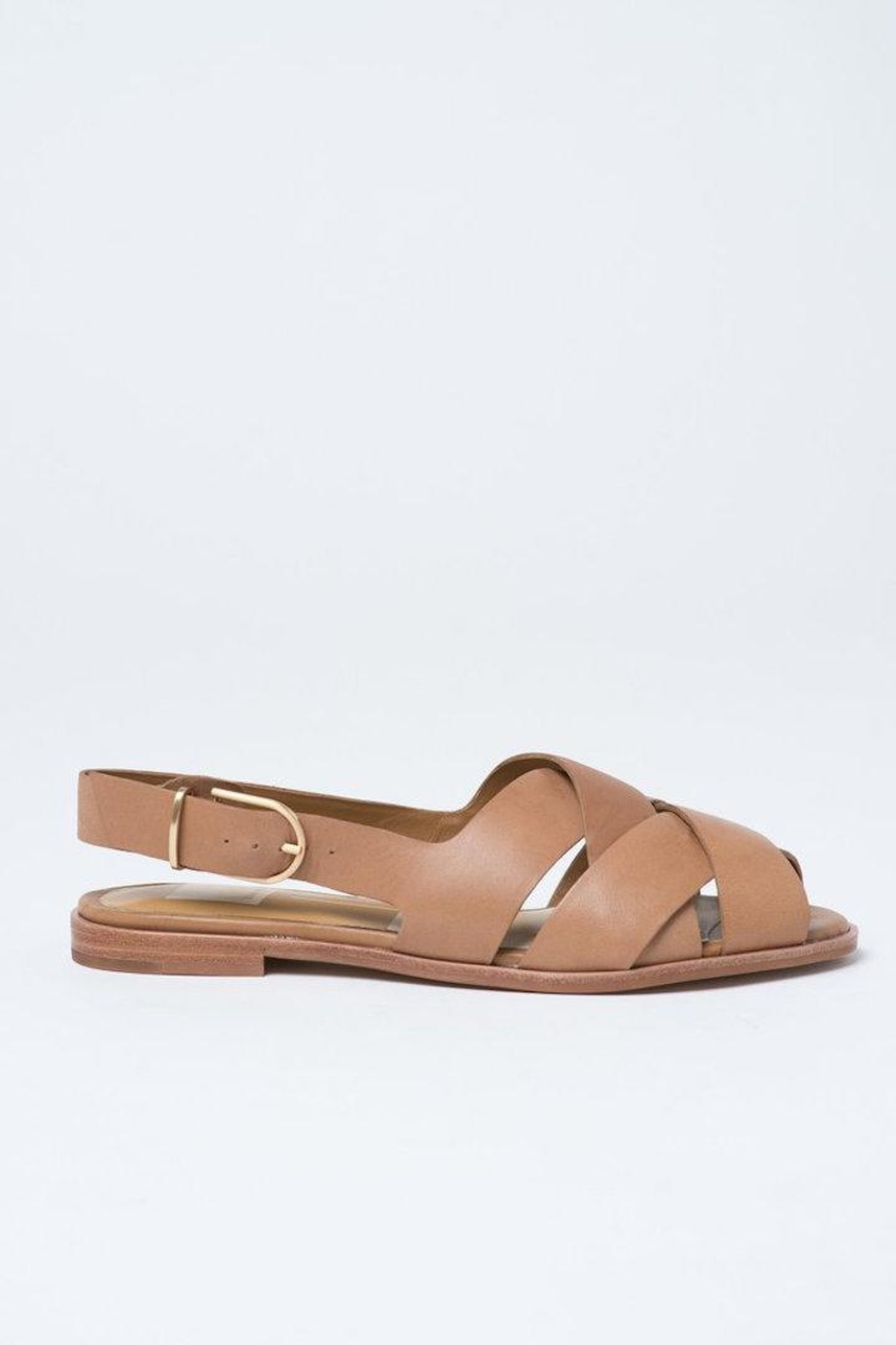 Dolce Vita Tan Bay Sandals - Back Cropped Image