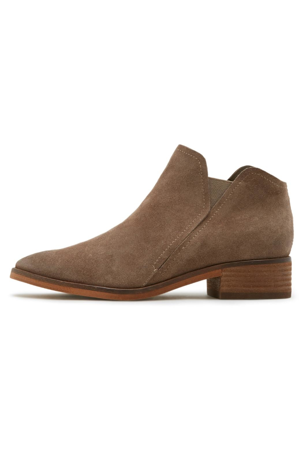 Dolce Vita Tay Suede Bootie - Front Cropped Image