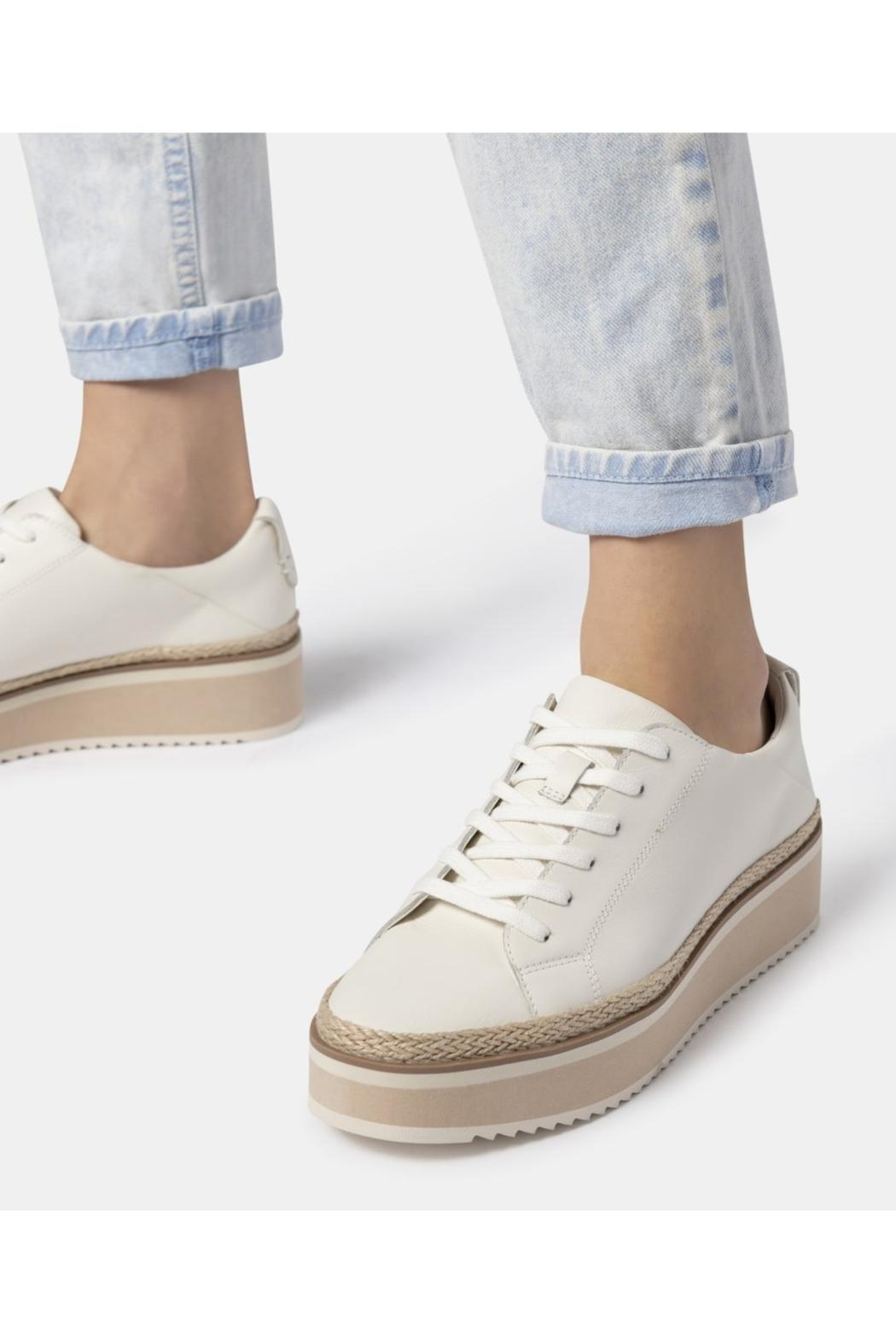 Dolce Vita Tinley Leather Sneaker - Main Image