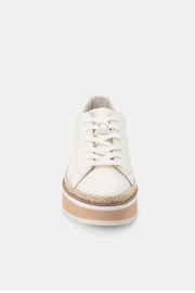 Dolce Vita Tinley Leather Sneaker - Side cropped