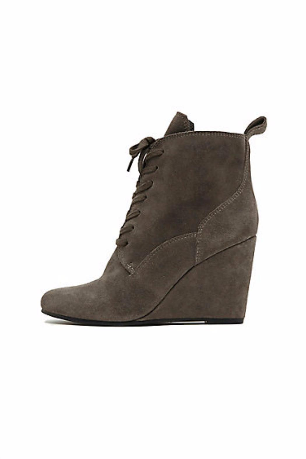 Dolce Vita Wedge Lace-Up Bootie - Main Image