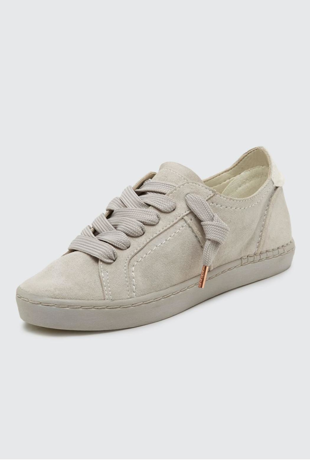 Dolce Vita Zalen Suede Sneaker - Front Cropped Image