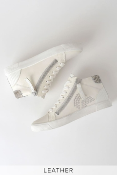 Dolce Vita Zonya White Sneakers - Alternate List Image