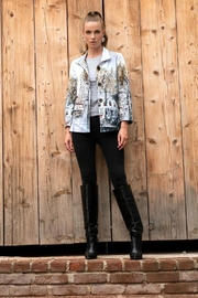 Dolcezza City Print Jacket - Front cropped