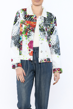 Dolcezza Colorful Stretch Jacket - Product List Image