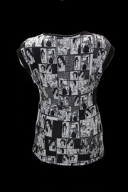 Dolcezza Comic Book Top - Front full body