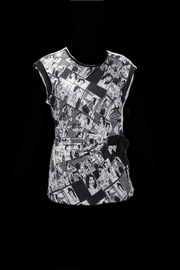 Dolcezza Comic Book Top - Front cropped