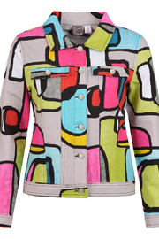 Dolcezza Modern Art Summer Jacket - Product Mini Image