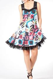 Shoptiques Product: Multi-Color Dress - Front full body