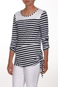 Shoptiques Product: Navy White Top