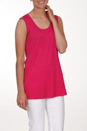Dolcezza Pink Sleeveless Top - Front cropped