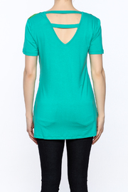 Dolcezza Colorful Tunic Top - Back cropped