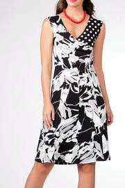 Dolcezza Sleeveless Abstract Dress - Product Mini Image