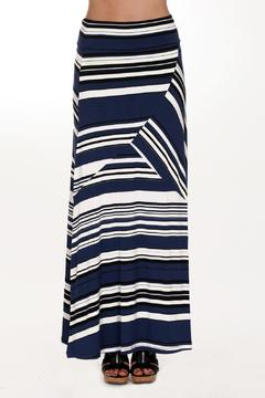 Dolcezza Striped Maxi Skirt - Product List Image