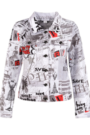 "Dolcezza ""Vintage Newspaper Jacket"" - Product Mini Image"