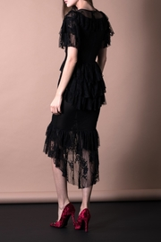 DOLCICIMO Black Lace Dress - Side cropped