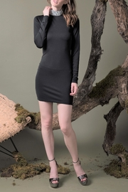 DOLCICIMO Black Sexy Dress - Product Mini Image