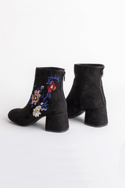 DOLCICIMO Black Zaya Bootie - Back cropped