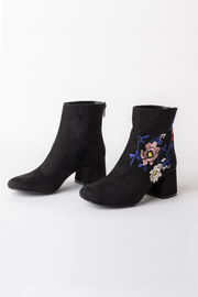DOLCICIMO Black Zaya Bootie - Product Mini Image
