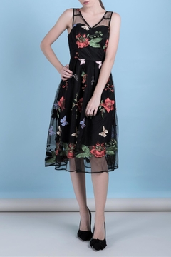 DOLCICIMO Embroidered Organza Dress - Product List Image