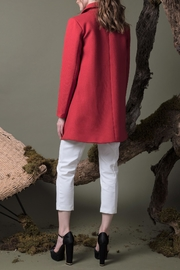 DOLCICIMO Sofia Red Coat - Front full body