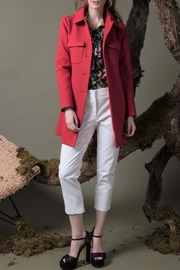 DOLCICIMO Sofia Red Coat - Product Mini Image