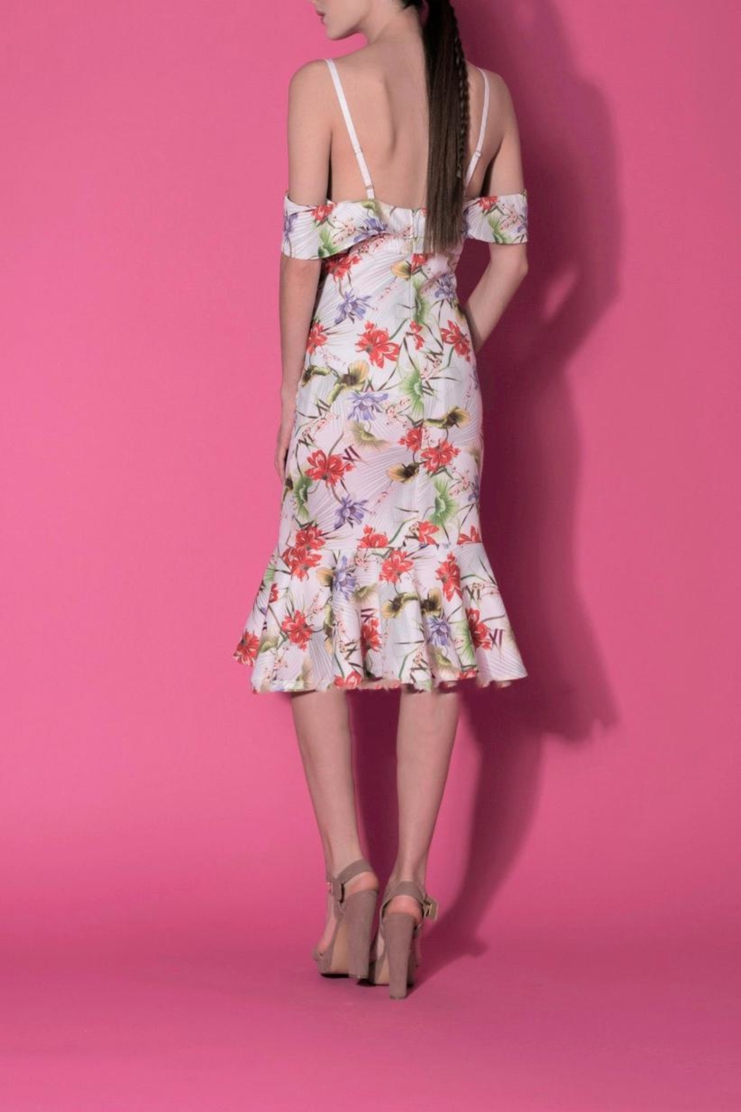 DOLCICIMO Spring Strap Dress - Front Full Image