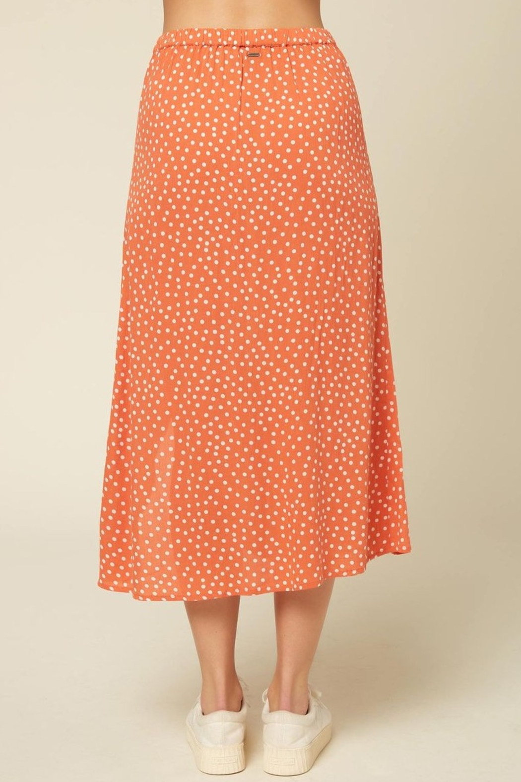 O Neill Dolina Button Skirt - Back Cropped Image