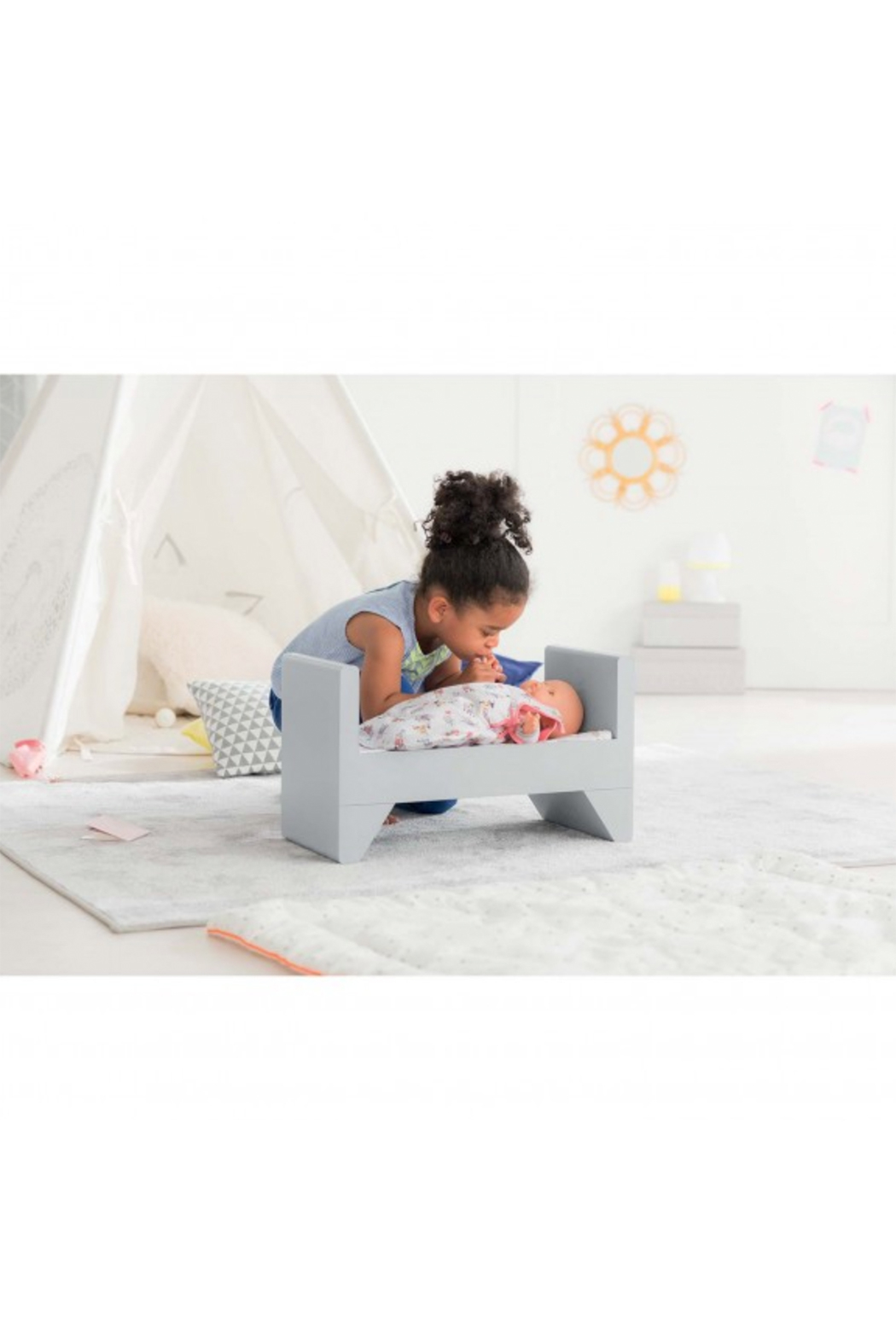 Corolle Doll Crib And Bed - Front Full Image