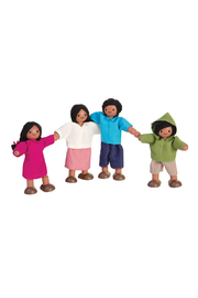 Plan Toys Doll Family - Front cropped