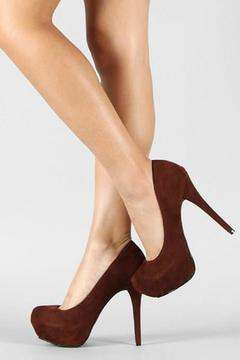 Dollhouse Brown Pumps - Alternate List Image