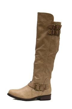 Shoptiques Product: Offensive Taupe Boot