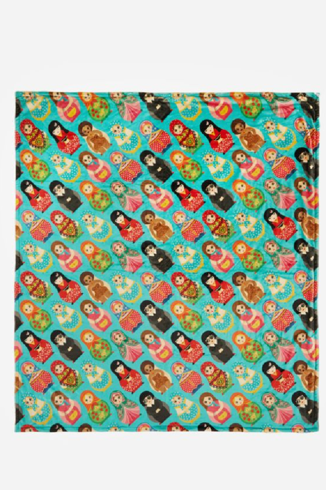 Johnny Was Collection Dolls Cozy Blanket - Side Cropped Image