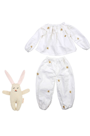 Meri Meri Dolly Dress Up Pajamas + Bunny Doll - Product Mini Image