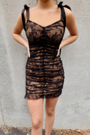 FOR LOVE & LEMONS Dolly Mini Dress - Product Mini Image
