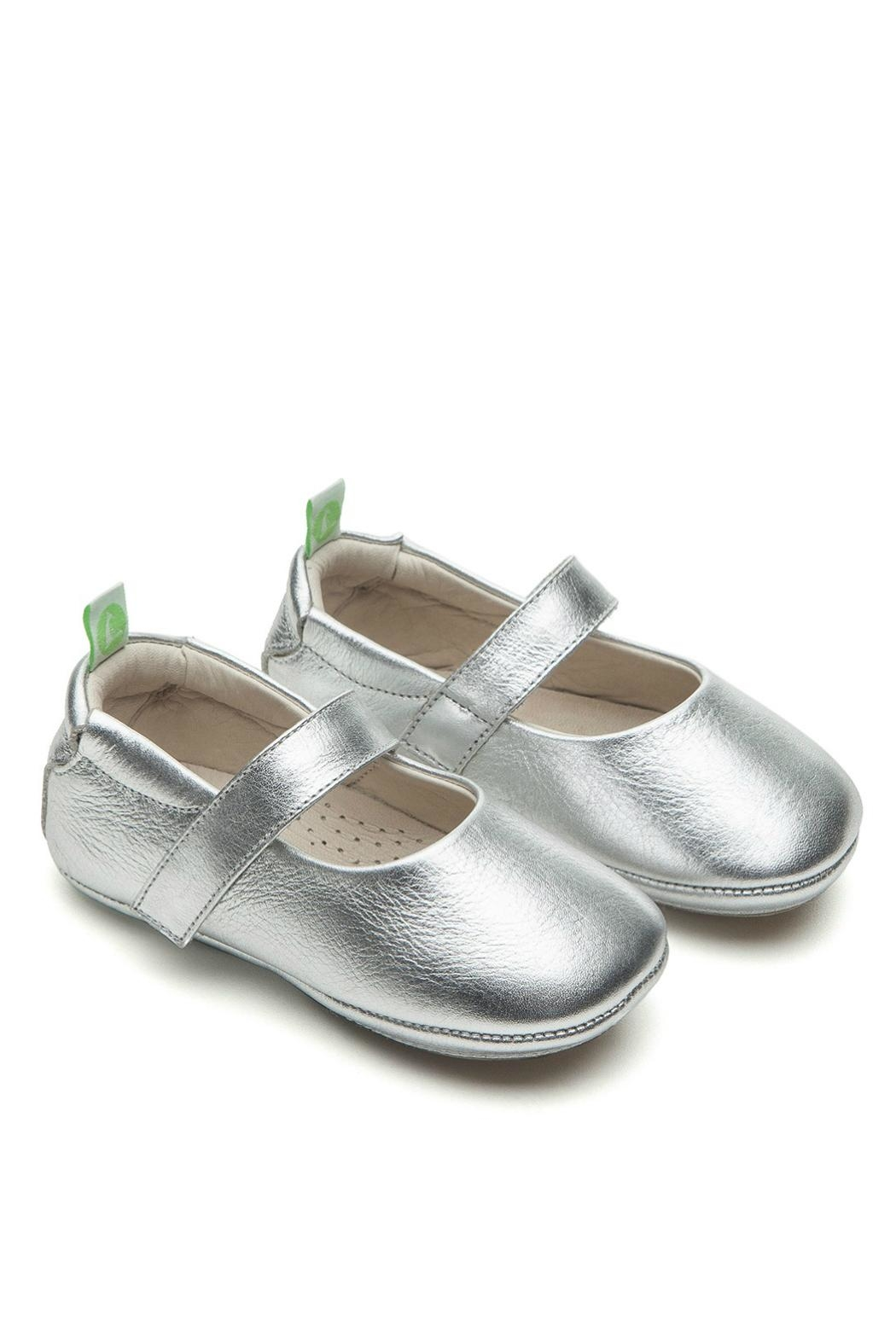 Tip Toey Joey Dolly Silver Shoes - Main Image
