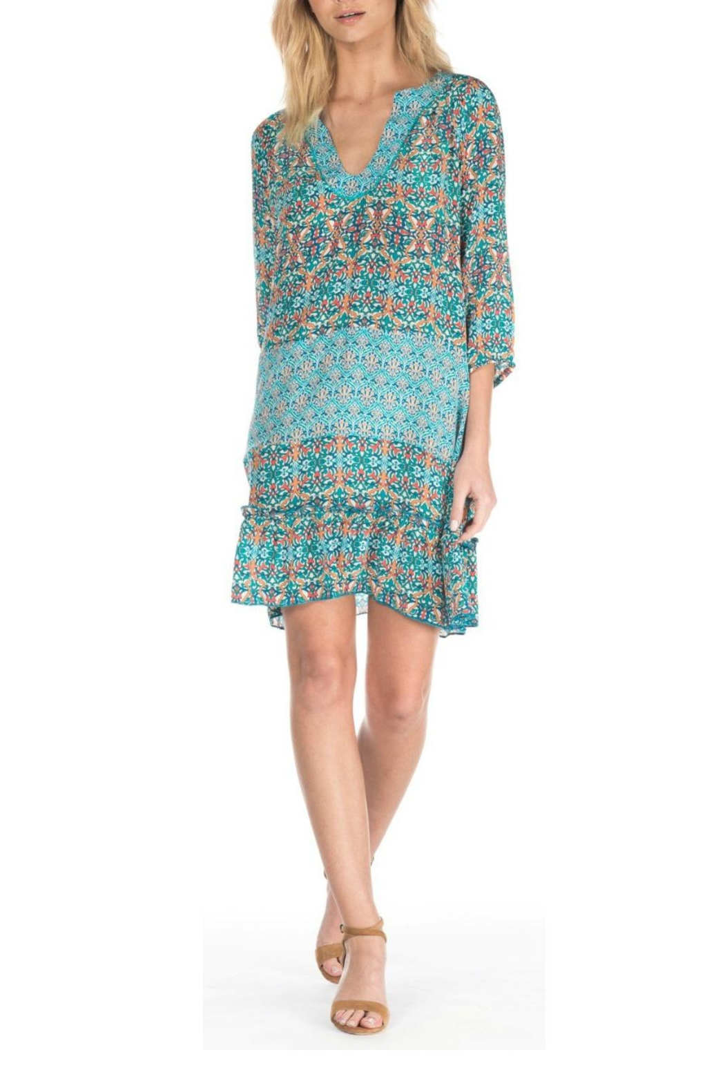 Tolani Dolly Turquoise Dress - Main Image