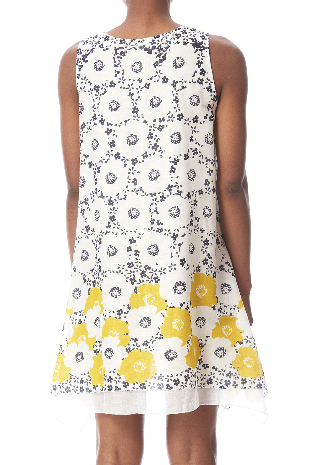 dolma Perfect Summer Dress - Back Cropped Image