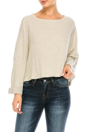 Jolie Dolman Crop Top - Product Mini Image
