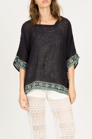 Monoreno Dolman Embroidered Top - Product Mini Image